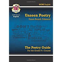 New Grade 9-1 GCSE English Literature Edexcel Unseen Poetry Guide