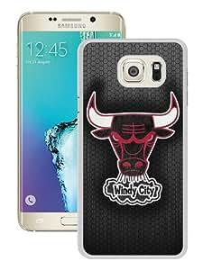 Hot Sale Samsung Galaxy S6 Edge Plus Case ,Unique And Fashion Designed Case With Chicago Bulls 6 White Samsung Galaxy S6 Edge+ Screen Cover Custom Drsigned Phone Case