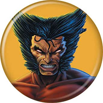 Amazon.com: Wolverine Face - Marvel Comics - Pinback