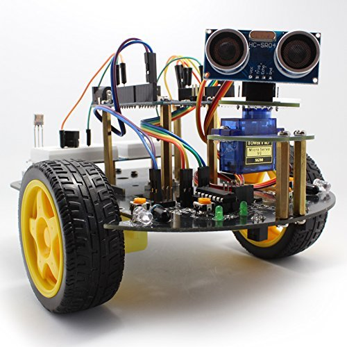 Longruner arduino project smart robot car kit with two