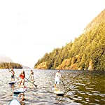 Kanqingqing-Sport-Stand-Up-Paddel-Gonfiabile-Double-Layer-for-Adulti-Gonfiabile-SUP-Stand-Up-Paddle-Insieme-del-Bordo-Bianco-305x81x10cm-per-Giovani-e-Adulti-Color-White-Size-305x81x10cm