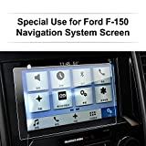 LFOTPP Ford F-150 2017 8 Inch Car Navigation Screen Protector, [9H] Clear Tempered Glass Infotainment Center Touch Screen Protector Anti Scratch High Clarity