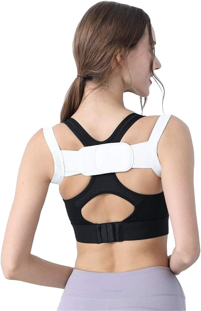 Brinny Posture Corrector - Corrector de Postura, para la corrección de Postura, para una Mejor Postura Corporal, Correa de Hombro para Hombre y Mujer