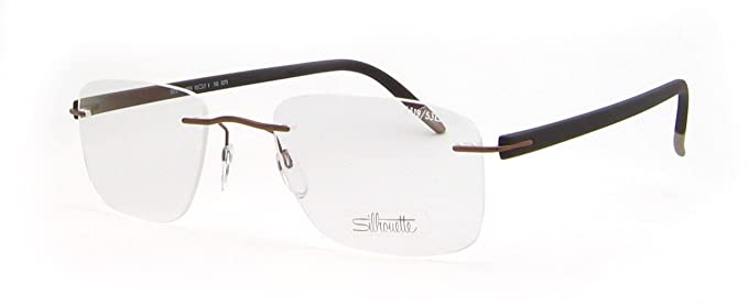 449f604bb16 Silhouette Eyeglasses 5319 6059 Chassis 5379 SPX Signia Deep Brown ...