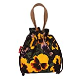 MAINLYCOR CHB880423C2 Explosion Models Canvas Folk-Custom Women's Handbag,Cylindrical Bucket Bag
