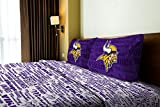 The Northwest Company Minnesota Vikings OFFICIAL NFL Full Sheet Set – Anthem Series