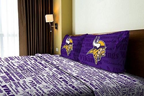 人気激安 Minnesota B014Z1D9X4 Vikings公式NFLフルシートセット – Anthemシリーズ Minnesota B014Z1D9X4, MAP-S:7890ab7e --- movellplanejado.com.br