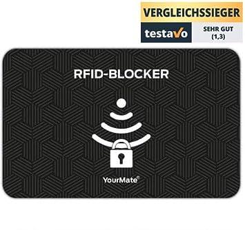 Tarjeta Protectora de Tarjetas RFID para prevenir el Robo electrónico de Datos. La Tarjeta bloqueadora de Tarjetas RFID Protege Varias Tarjetas a la Vez con ...
