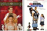 The Princess Diaries 2 Royal Engagement , the Pacifier : Walt Disney 2 Pack Collection