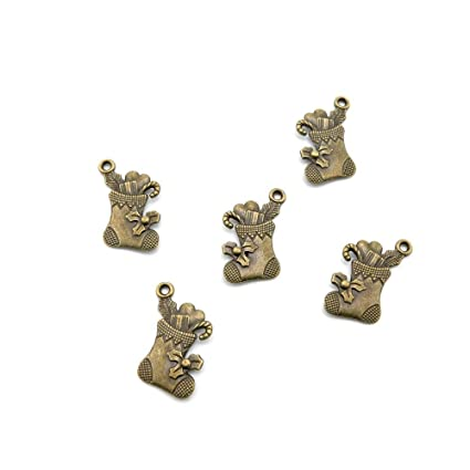 Antiguo bronce antiguo moda joyería hacer manualidades con las conclusiones Bulk para pulsera collar colgante retro