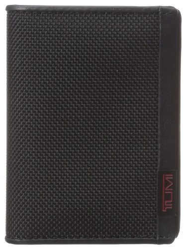 TUMI Mens Alpha Gusseted Holder