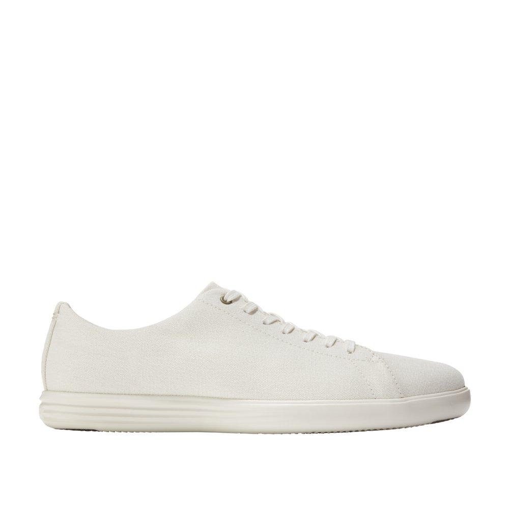 542f529fb884 Galleon - Cole Haan Men s Grand Crosscourt Sneaker 8 Ivory Canvas