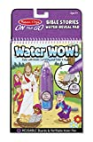 Melissa & Doug On the Go Water Wow! Bible Stories (The Original Reusable Water-Reveal Activity Pad, Chunky-Size Water Pen, Great Gift for Girls and Boys - Best for 3, 4, 5, 6, and 7 Year Olds)