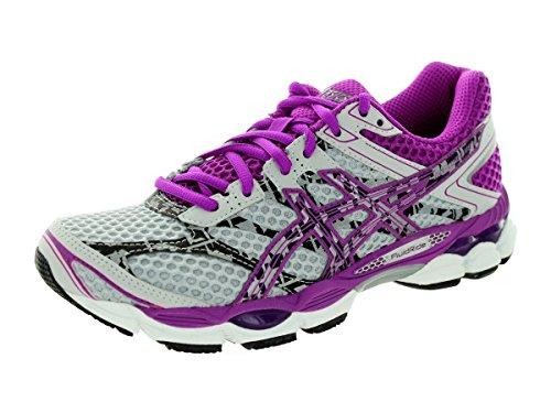 ASICS Women's Gel-Cumulus 16 Lite-Show Running Shoe,Lightning/Purple/Black,6 M US