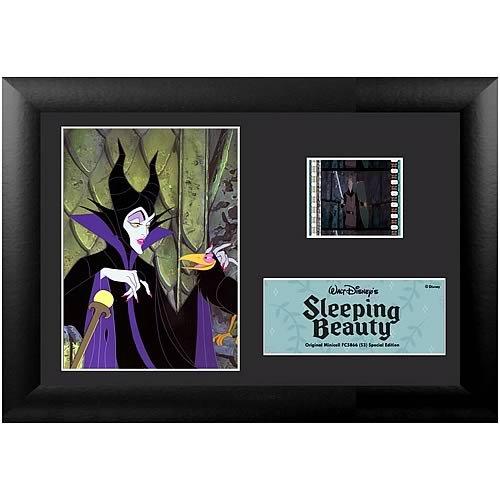 Filmcells Sleeping Beauty Maleficent Framed and Matted Film Cell Minicell (S3) (Framed Film Cell Limited Edition)