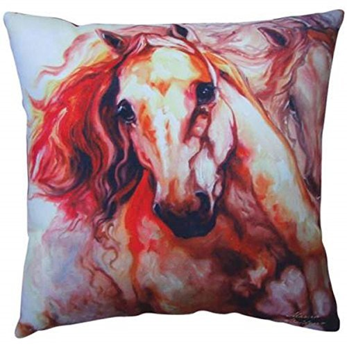 Thunder-Theme-Couch-Sofa-Pillow-with-Two-Galloping-Horses-Design