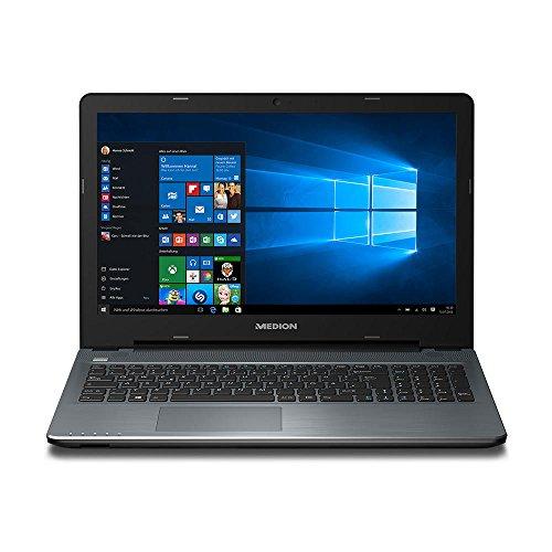 Medion AKOYA P6659 15.6-Inch Notebook (Black) - (Intel Core i7-6500U, 8 GB RAM, 1 TB Storage, NVIDIA 930M 2 GB Dedicated Graphics, Windows 10)
