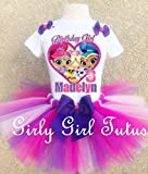 Shimmer and Shine Personalized Birthday Outfit Tutu Set
