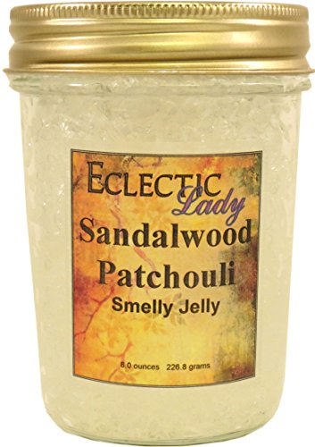 Sandalwood Patchouli Smelly Jelly by Eclectic Lady ()