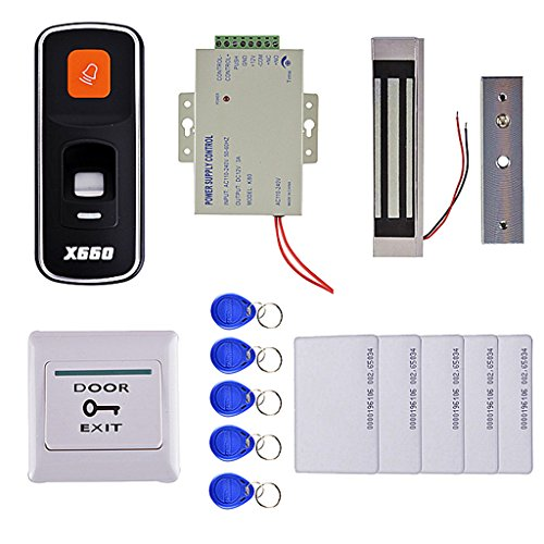 Homyl A Set Door Access Control System Security System Kit Electronic Door Lock by Homyl