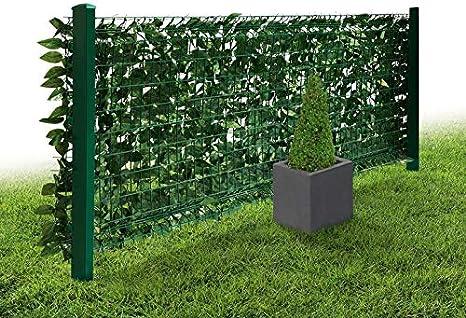 Flora Best Privacidad detailgetreue imitación de setos de plástico Jardín Valla: Amazon.es: Jardín