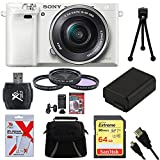 Best Sony Beginner Dslr Cameras - Sony Alpha a6000 White Camera with 16-50mm Power Review