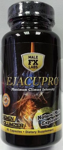 Ejacupro (60 Caps) Volumizer sperme et Climax Enhancer formule