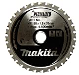 Makita A-96095 Metal/General Purpose 32T Carbide-Tipped Saw Blade, 5-7/8""