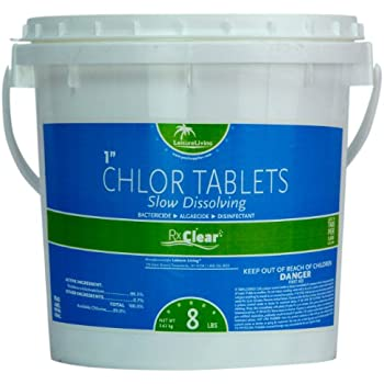 Amazon Com Kem Tek 177 1 Inch Chlorinating Tablets For
