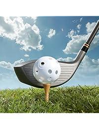 24 pelotas para golf de Plástico Blanco poliuretano de corona Sporting Goods