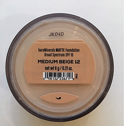 Bare Escentuals bareMinerals MATTE Foundation - MEDIUM BEIGE N20 6g
