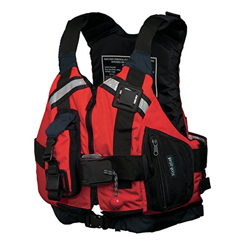 Kokatat Kayak - Kokatat Guide Rescue PFD Kayak Lifejacket-Red-XL