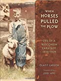When Horses Pulled the Plow: Life of a Wisconsin Farm Boy, 1910–1929 (Wisconsin Land and Life)