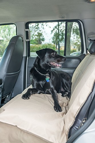 Bench Seat Cover for Dogs, cats or other beloved pets - Waterproof Protection for the backseat of your Car, Truck, Minivan or SUV by (Cat Costume Commercial)