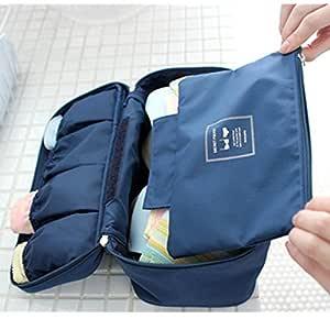 ANKKO portátil sujetador ropa interior lencería de viaje bolsa ...
