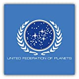 united federation planets - United Federation Of Planets Art Decor Vinyl Sticker 5'' X 5''