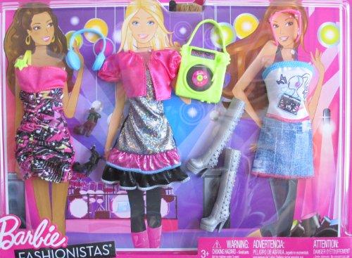 Barbie Fashionistas MUSIC & FUN FASHIONS & Accessories (2011)
