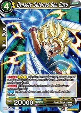 Dynasty Deferred Son Goku - BT4-081 - Series 4 - Colossal Warfare - Dragon Ball Super (Dynasty Single)