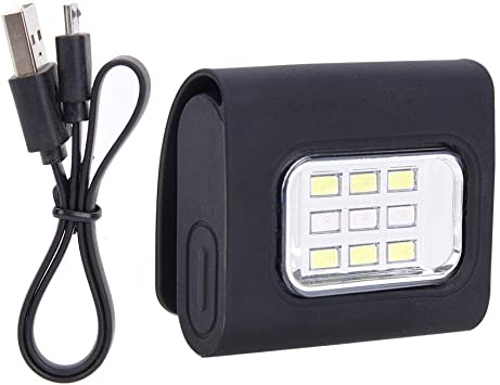 Luz De Marcha Nocturna Carga USB para Caminar De Noche Correr ...