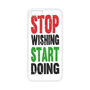 """YNACASE(TM) Stop Wishing,Star Doing Top Quality Phone Case for iPhone6 4.7"""",Customized Case with Stop Wishing,Star Doing"""