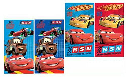 Disney CARS 4er Set KINDERHANDTUCH 35x65cm Handtuch