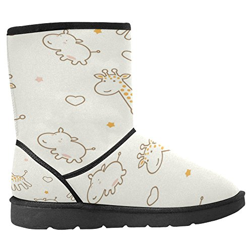 Snow Stivali Da Donna Di Interestprint Design Unico Comfort Invernale Stivali Multi 8