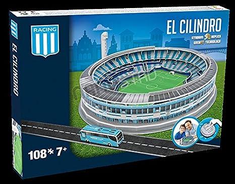 Racing Club Argentina El Cilindro Stadium 3D jigsaw puzzle (kog)