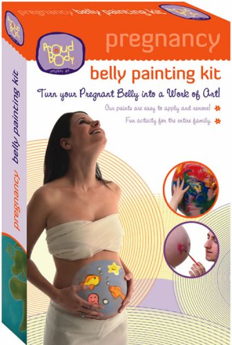 ProudBody Pregnancy Belly Painting Kit (Cast Belly Pregnancy Kit)