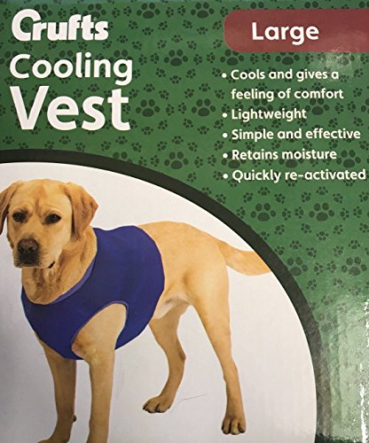 Crufts Pet Cooling Vest in Colour Box, Large 1