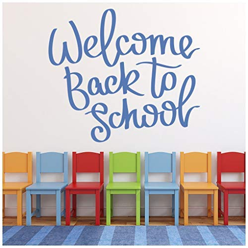 Amazon com: Celeste decal banytree Welcome Back School Quote