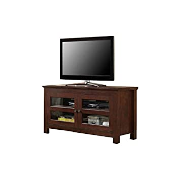 Amazon Com Ats 50 Inch Tv Stand Organize Rack Storage Shelves Wood
