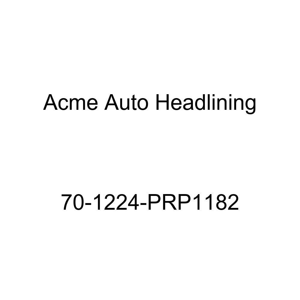Acme Auto Headlining 70-1224-PRP1182 Blue Replacement Headliner 6 Bow 1970 Oldsmobile Cutlass 4 Door Hardtop