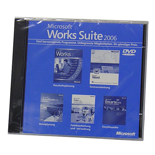 Microsoft Works-Suite 2006 OEM