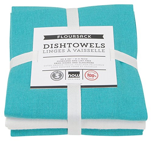 Now Designs Floursack Kitchen Towels